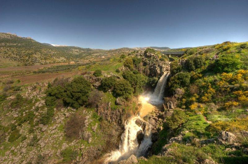 Saar Falls. Photo: Or Hiltch