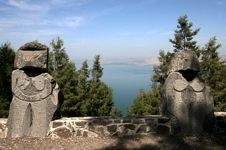The magnificent view from the Switzerland Forest across the Sea of Galilee. Photo KKL-JNF Photo Archive