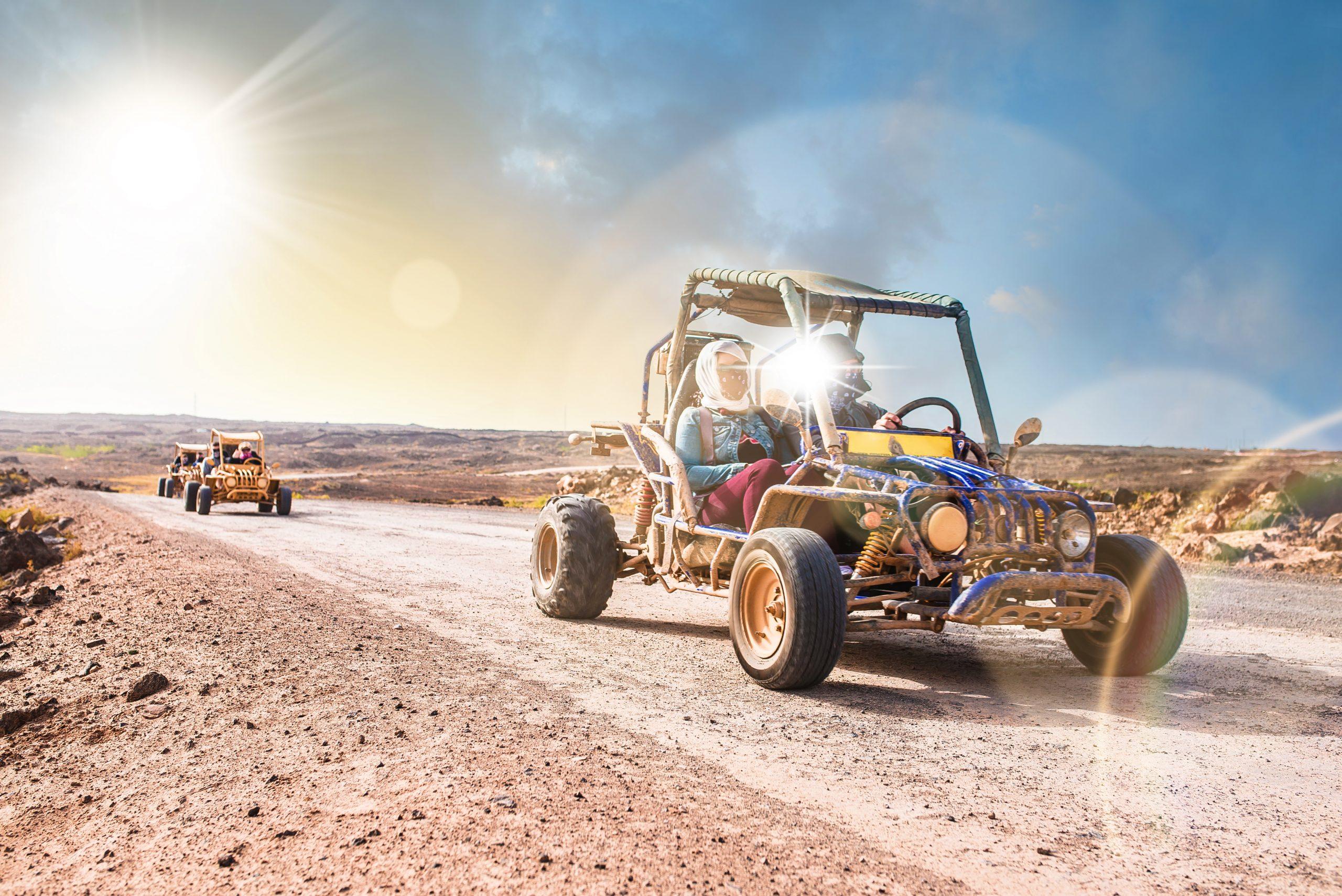 Atv Desert Buggies In The Negev