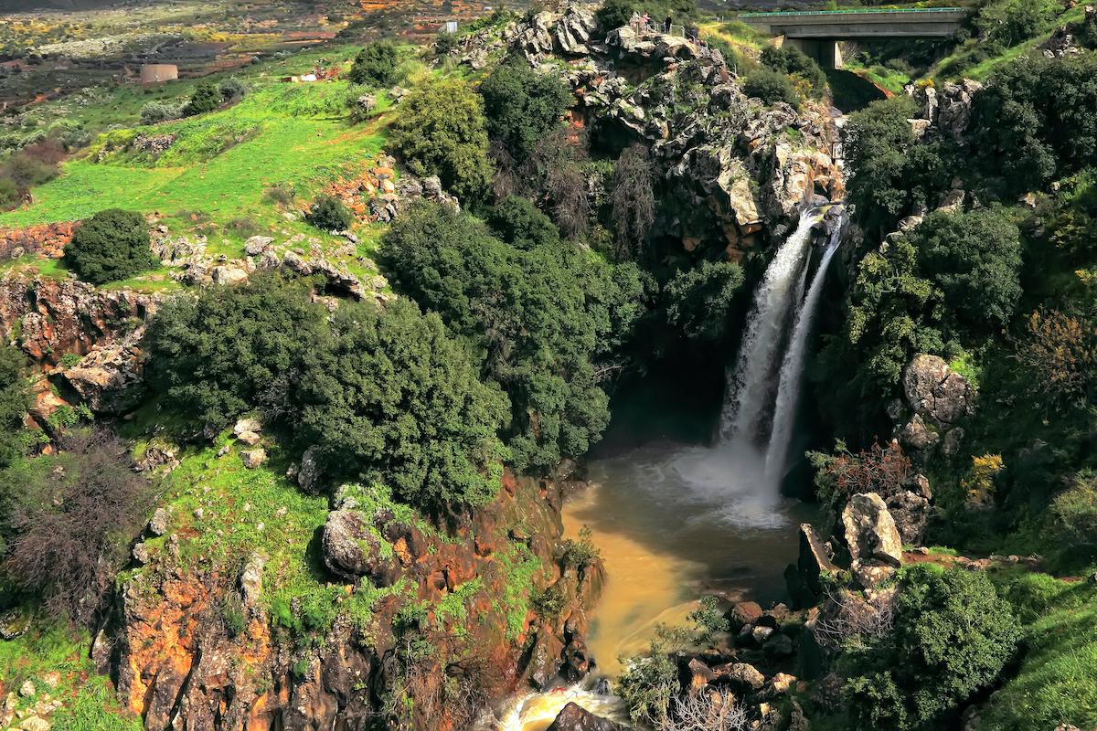 Golan Heights Black Canyon
