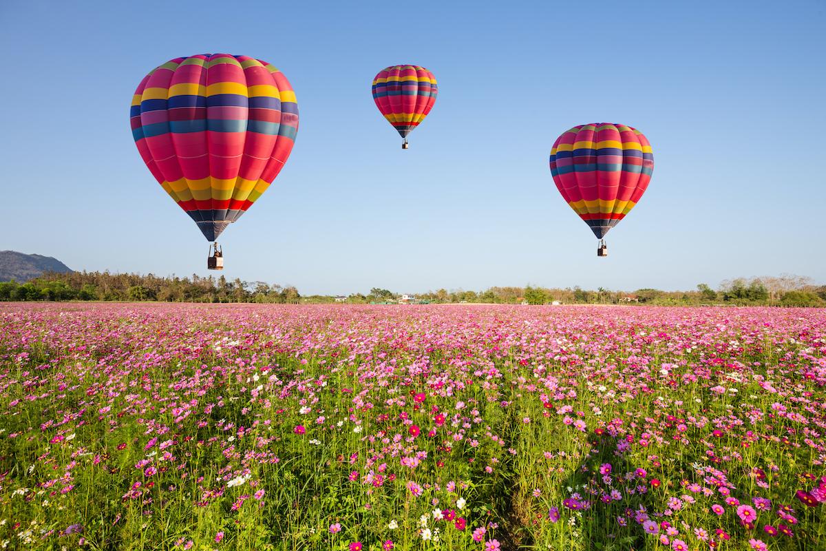Hot Air Balloon Flight In Northern Israel1
