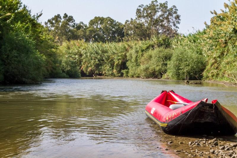 Kayaking In The River Jordan1