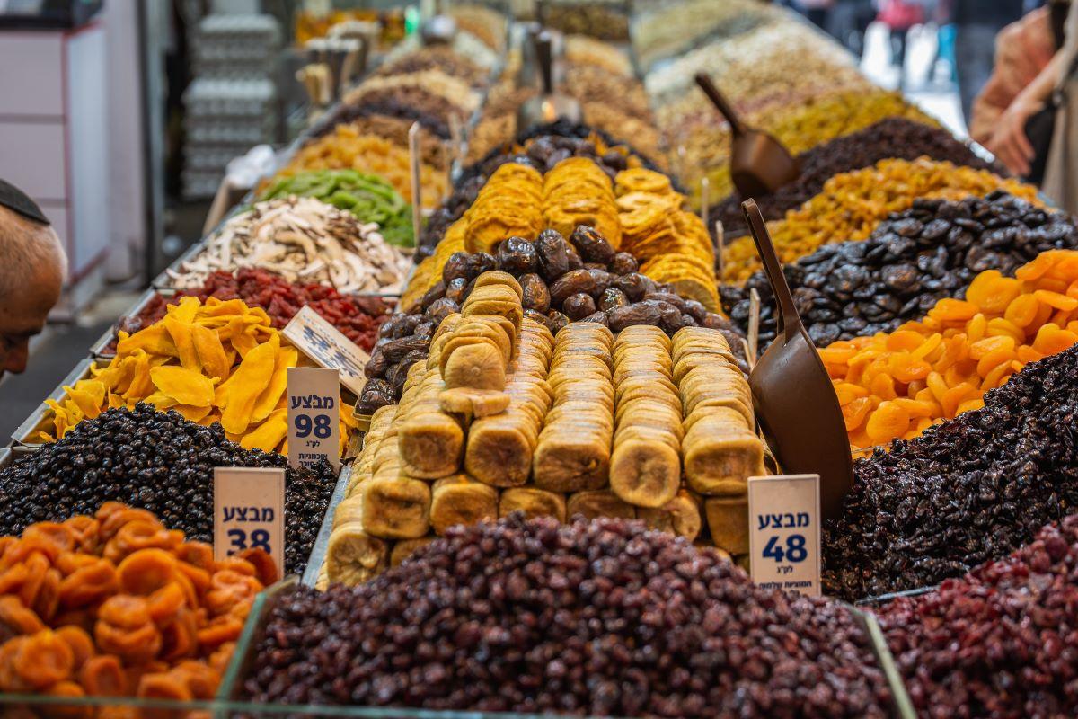 Machne Yehuda Market Tour 1