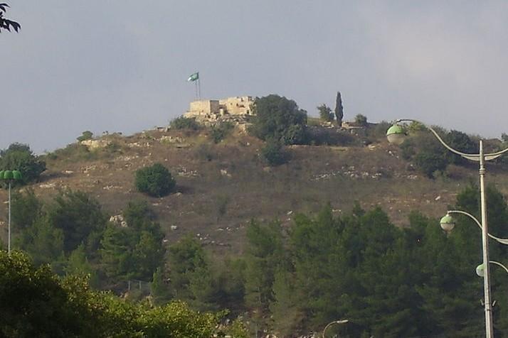 The Kastel Fortress. Image Avishai Teicher