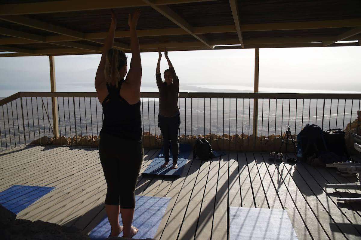 Masada Sunrise Yoga, Ein Gedi Oasis, And Dead Sea Wellness Experience Tour2
