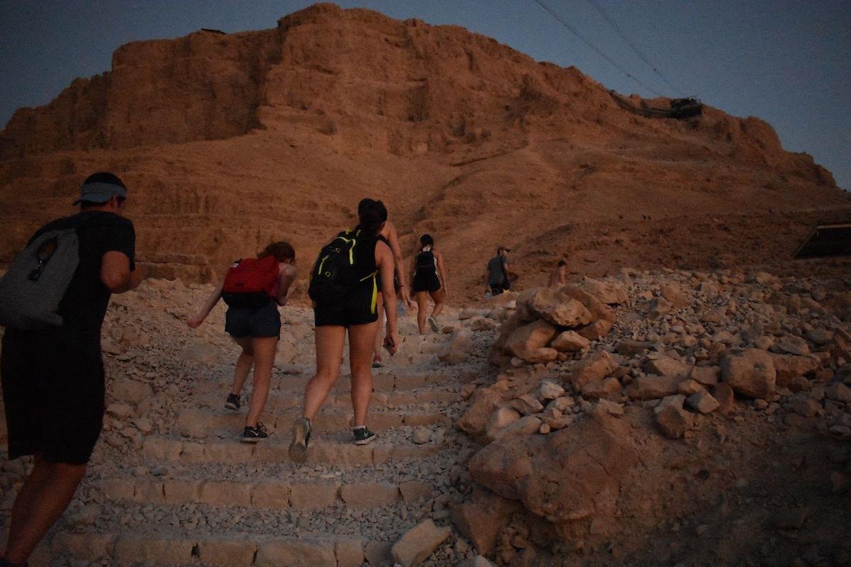 Masada Sunrise Yoga, Ein Gedi Oasis, And Dead Sea Wellness Experience Tour4