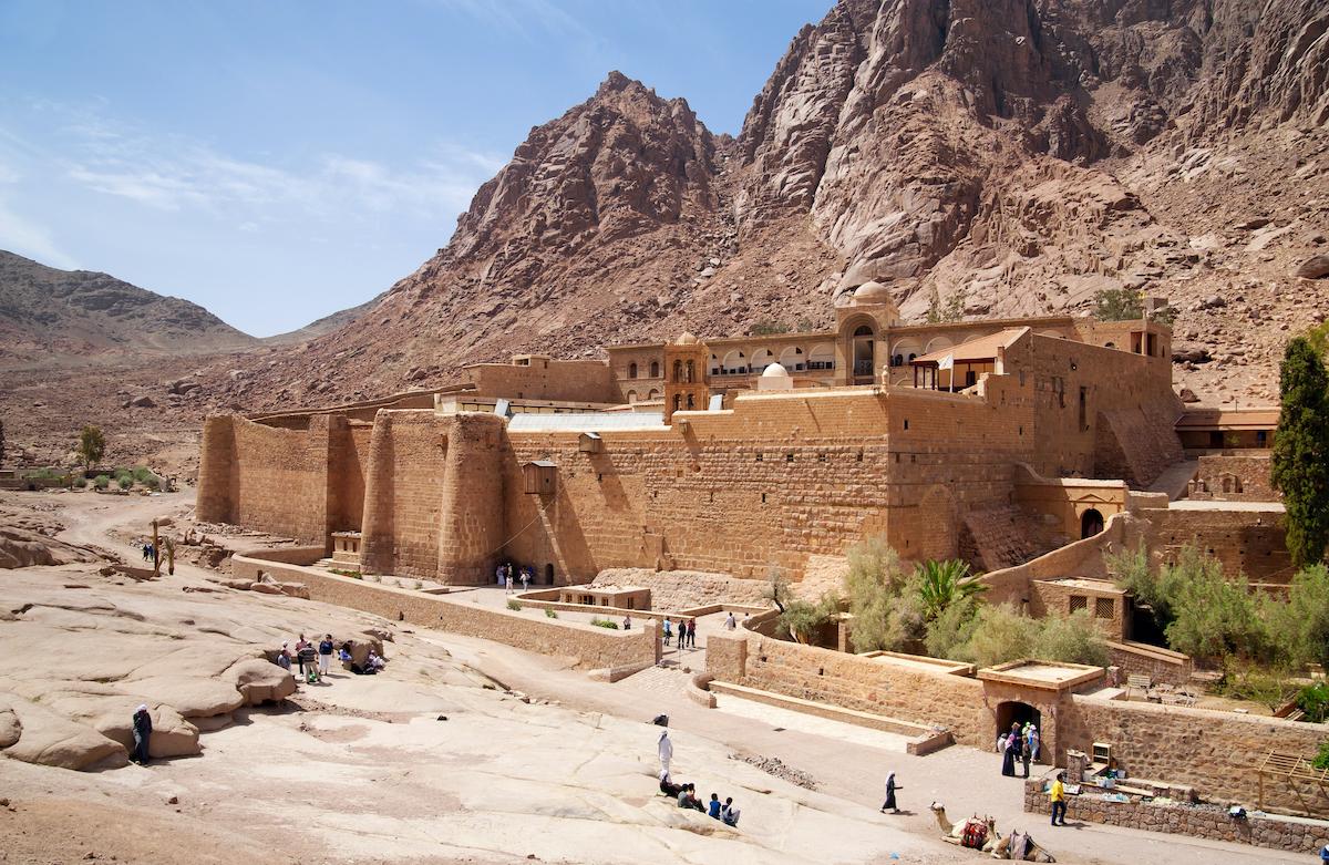 Mount Sinai & Saint Catherine Tour From Eilat Or Tel Aviv