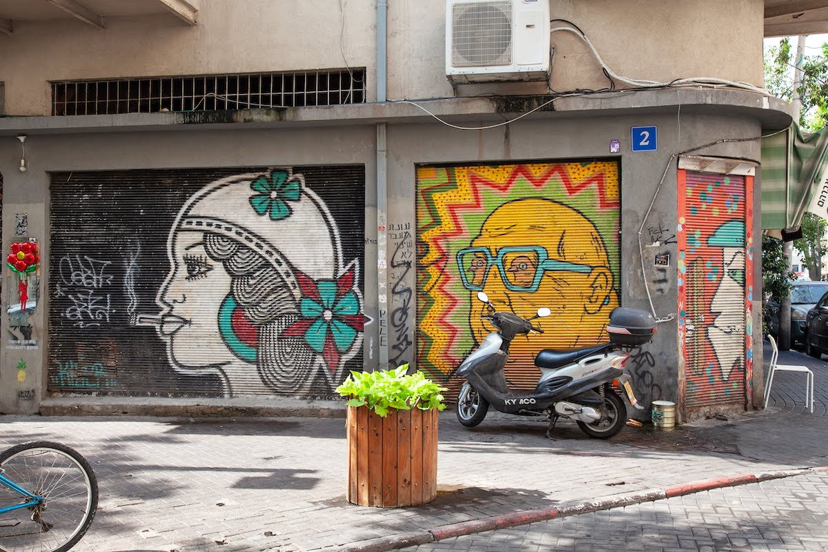 Tel Aviv Urban Tour - Architecture, Food And Street Art14