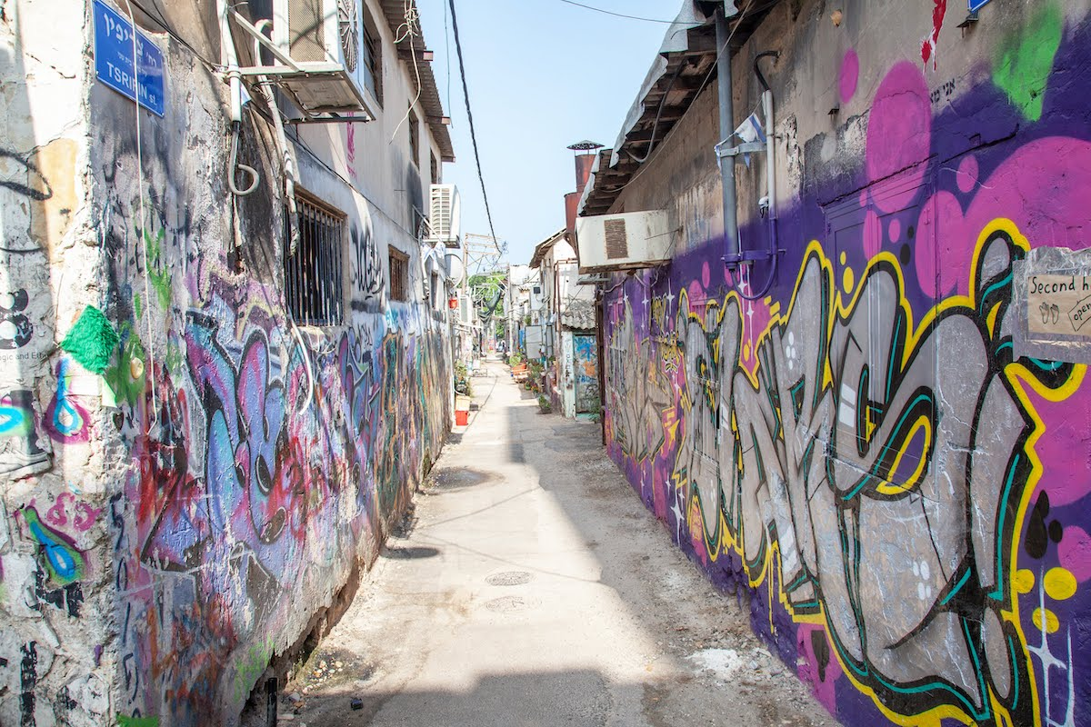 Tel Aviv Urban Tour - Architecture, Food And Street Art2