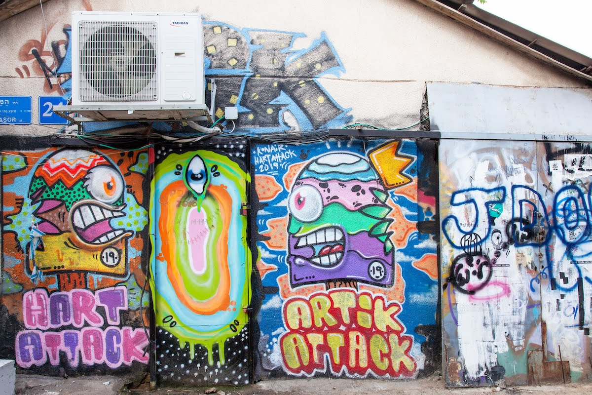Tel Aviv Urban Tour - Architecture, Food And Street Art3