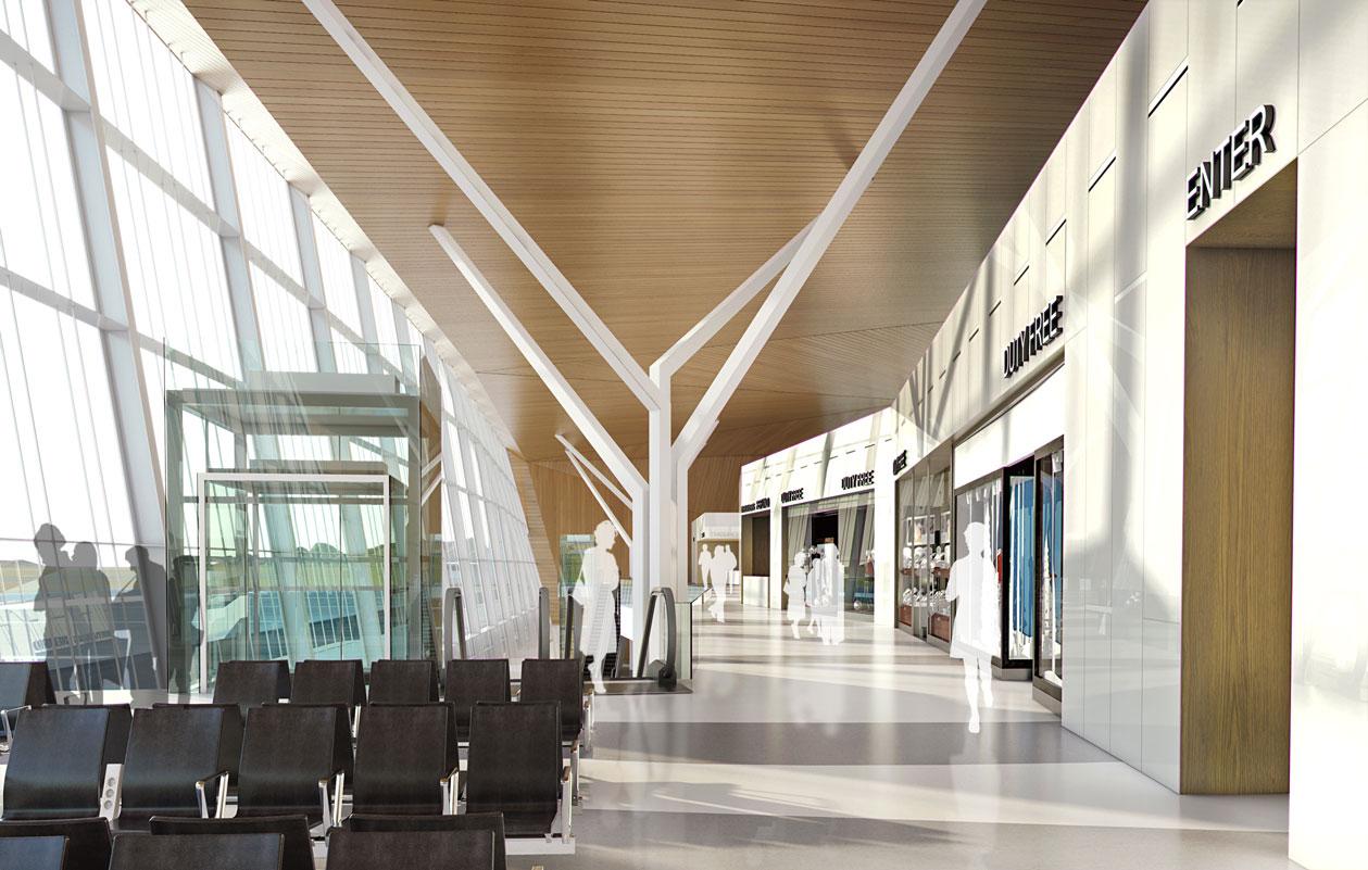 Ramon Airport airside