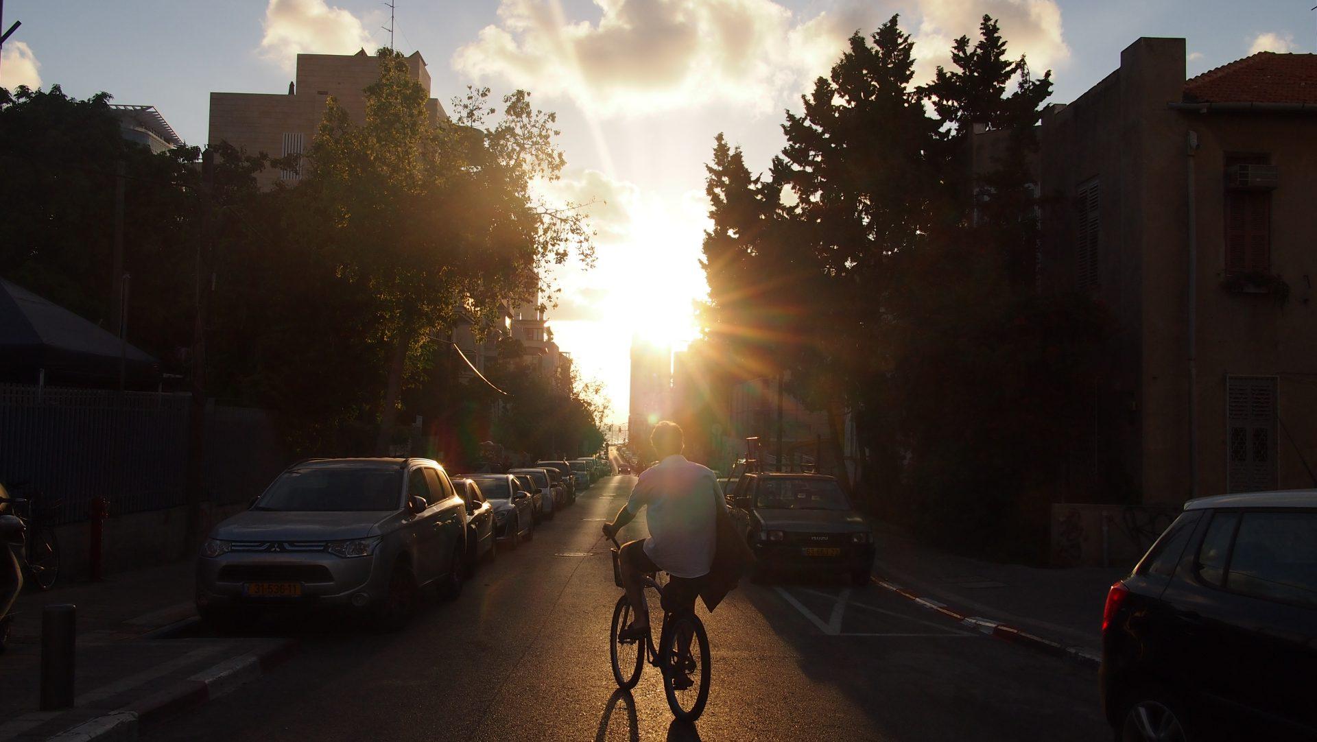 Exploring Tel Aviv by bike