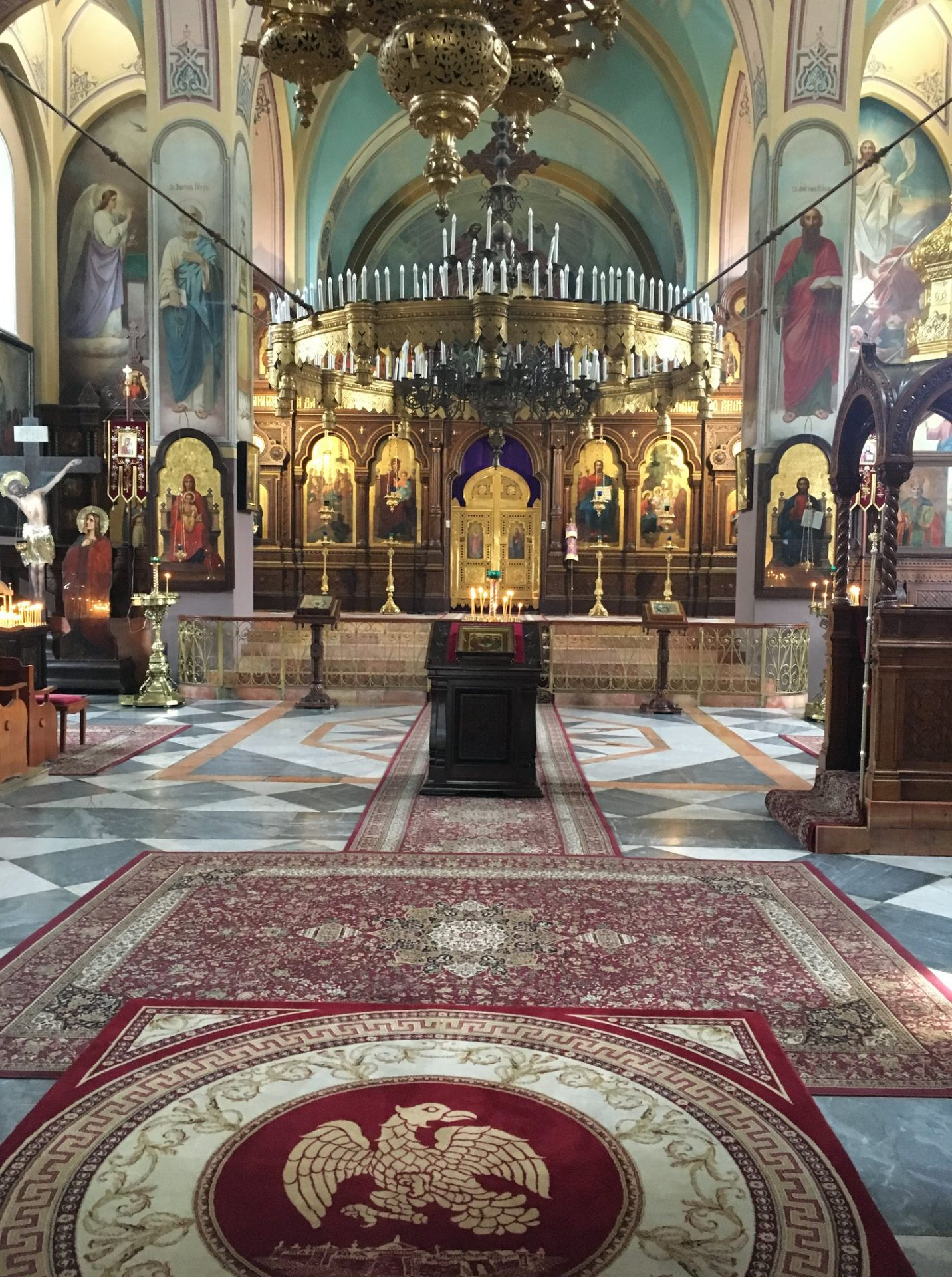 Holy Trinity Church Russian Compound