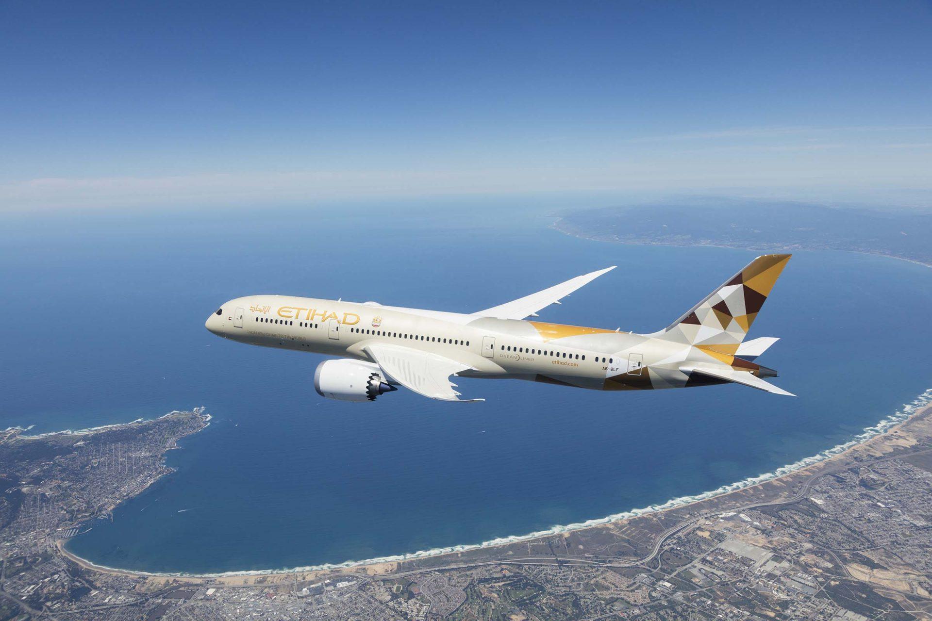 Etihad Airways will begin flights from Abu Dhabi to Tel Aviv