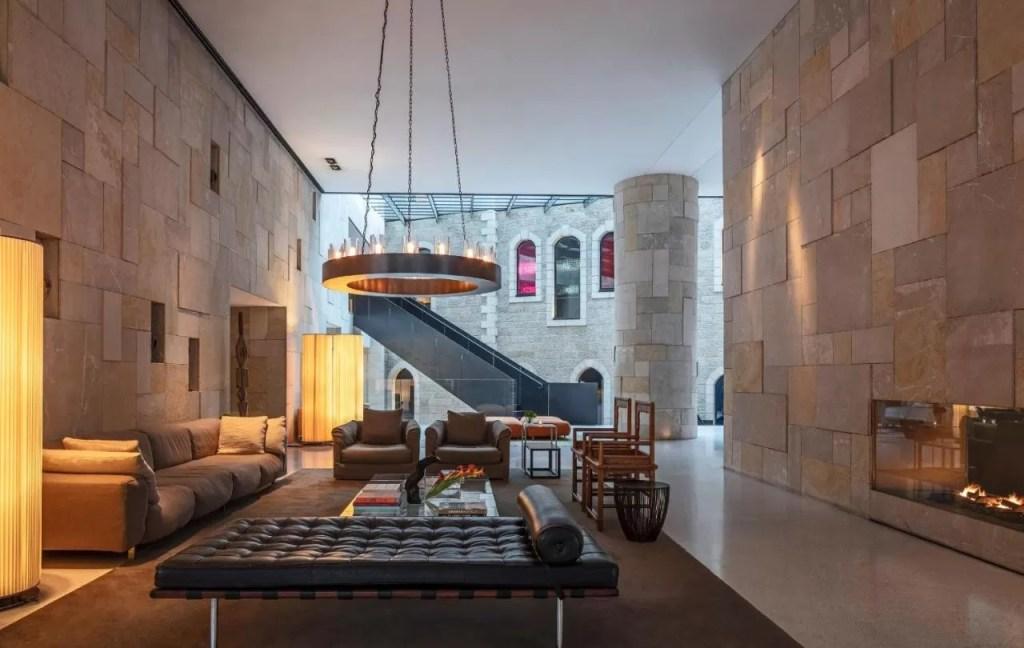Mamilla Design Hotel Interior