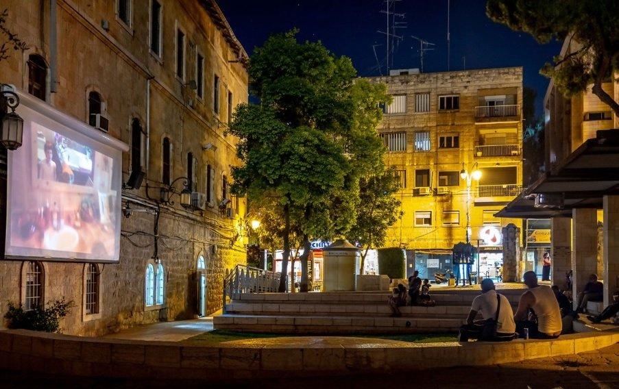 Jerusalem Moonlight Cinema in Jerusalem, Israel. August 1-31, 2021