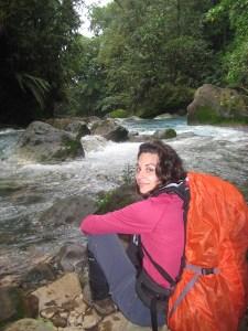 Voyageuse, Costa-Rica, randonnée, plein air