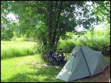 Parc Plaisance, camping, tortues, faune, vélo, nature, canot