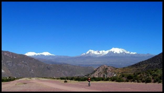 Vélo à Colca, canyon Colca, Pérou, vélo, voyage