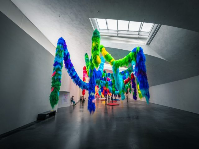 Contemporary Creative Displays at Kiasma Museum Helsinki