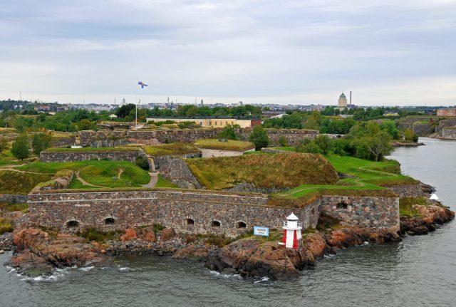 The largest brick sea-fortress in Helsinki