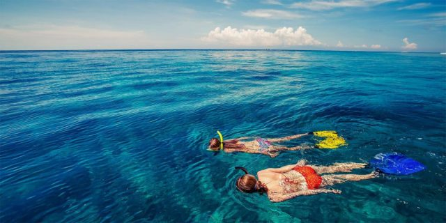 Snorkelling in Hawaii