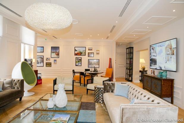 Club Med compte déployer une dizaine d'appartements-boutiques en France d'ici 2021 - Appartement boutique des Champs-Elysées - Photo Shérif Scouri Club Med