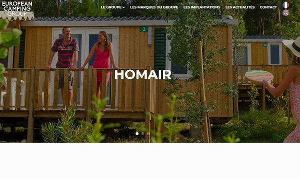 European Camping Group fait l'acquisition de 2 campings en France - Crédit photo : Homair