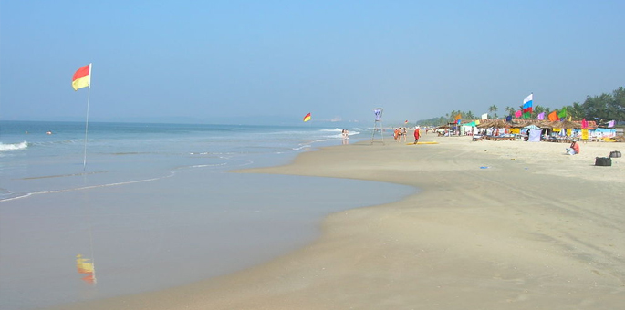 Utorda-Beach,-Goa Beaches in India