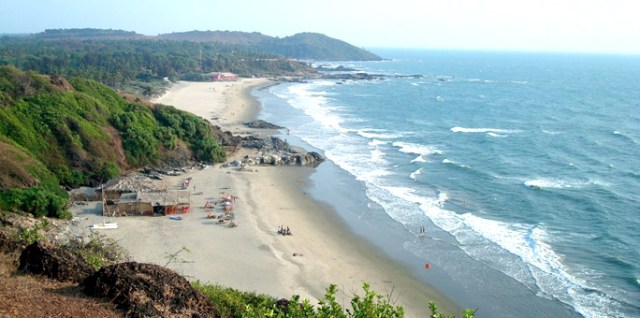 Vagator-Beach--Goa Beaches in India