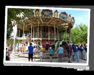 Le magnifique carrousel 1900