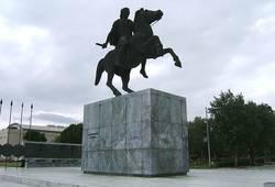 Фото Памятник Александру Македонскому   Салоники, Греция ...