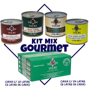 Kit Mix Gourmet Tours Conservas
