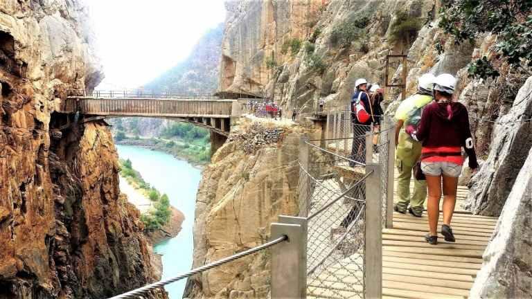 Caminito del Rey group trip