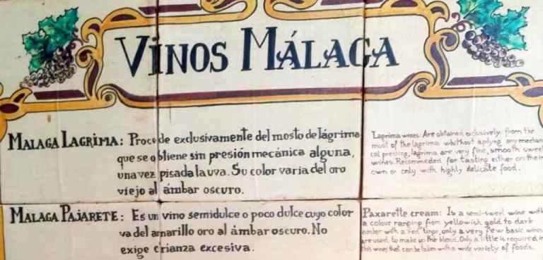 Malaga wines