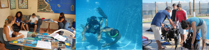 PADI dive course-Open water diver
