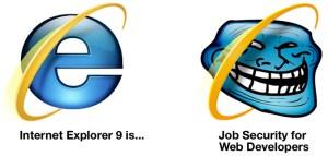 IE9 Breaks Websites