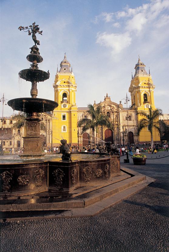 Lima photo Plaza de Armas