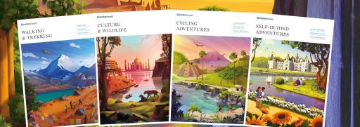 image of brochures