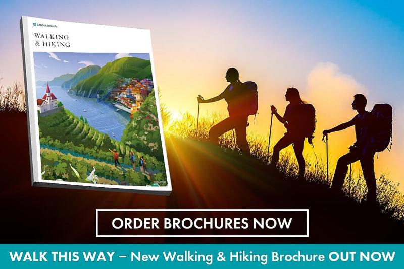 order a walking holiday brochure