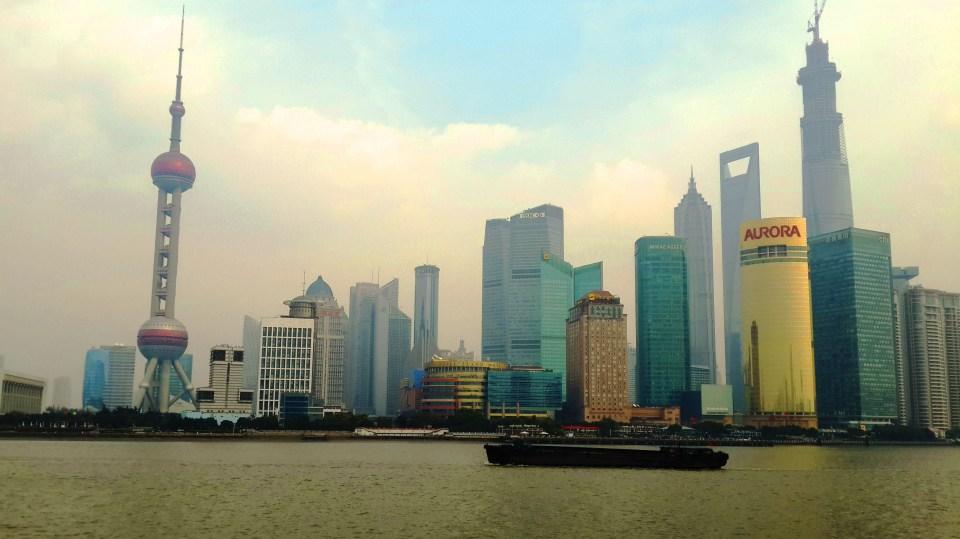 Shanghai Bund View
