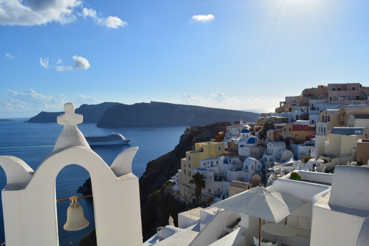 Santorini - View from Oia!