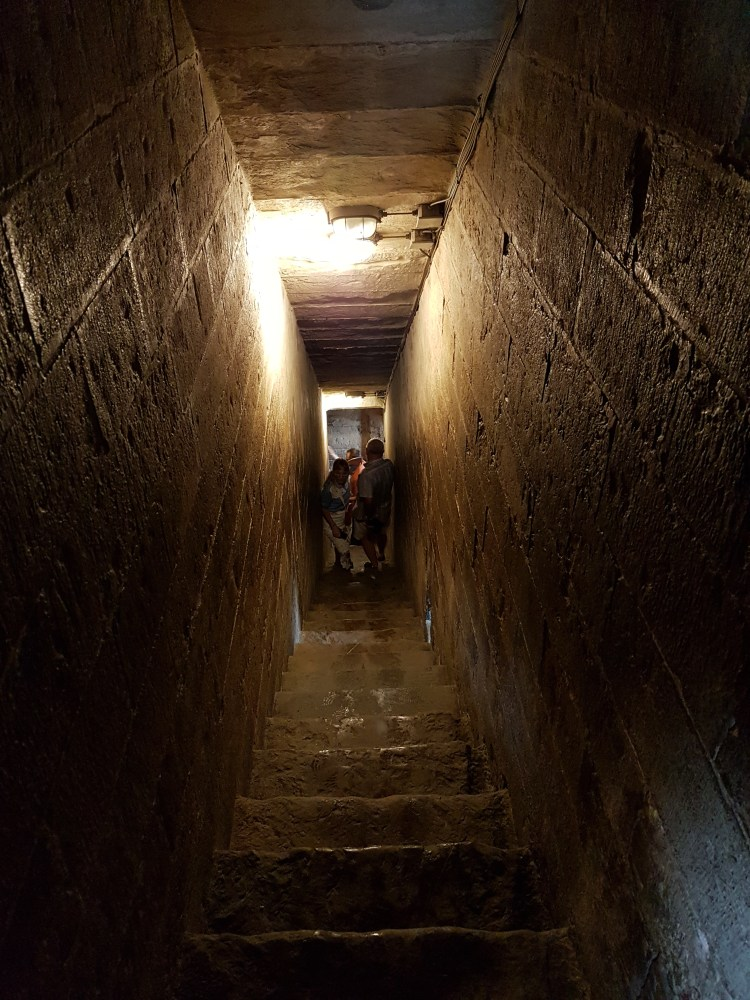 Way to the top of the Bell Tower (Giotto's Campanile), Florence