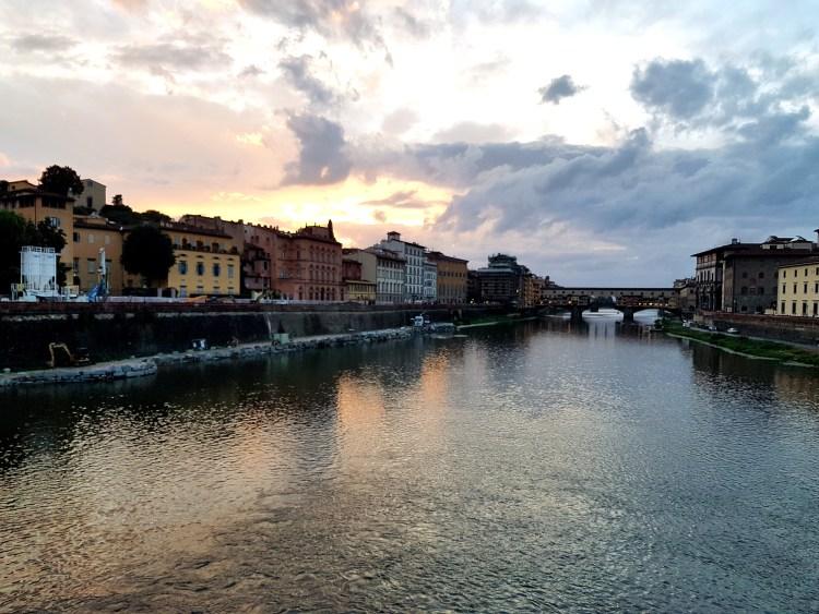 View of Ponte Vecchio Florence