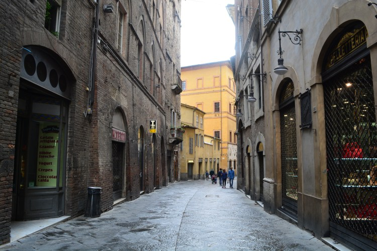 Rustic Streets in Sienna