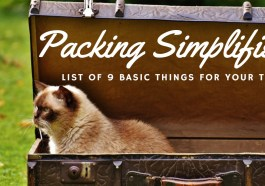 Basic Things to Pack