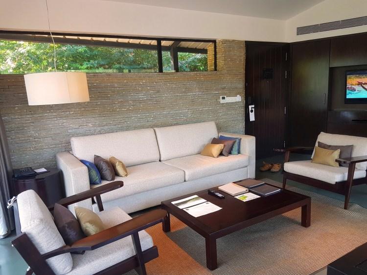 Living Room - Spa Pool Villa, Hilton Shillim