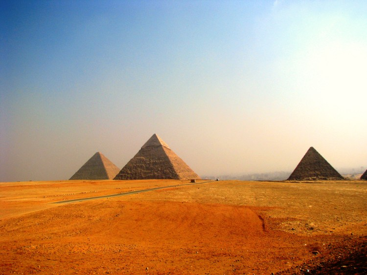 Within the Pyramids Vicinity - Pyramids of Giza
