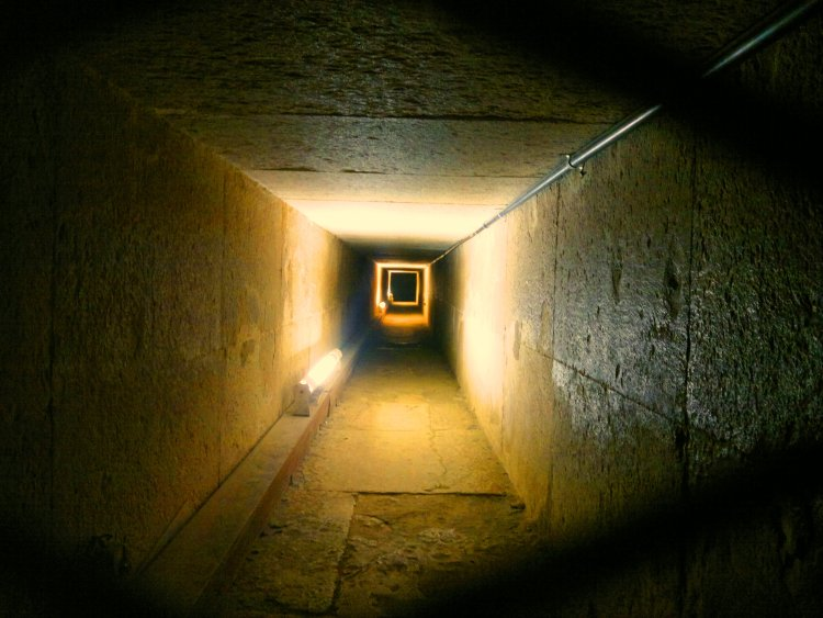 Inside the Great Pyramid of King Khufu