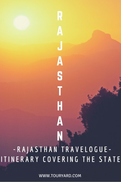 Rajasthan Travelogue - Pin